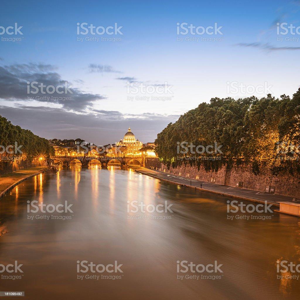 Rome skyline royalty-free stock photo