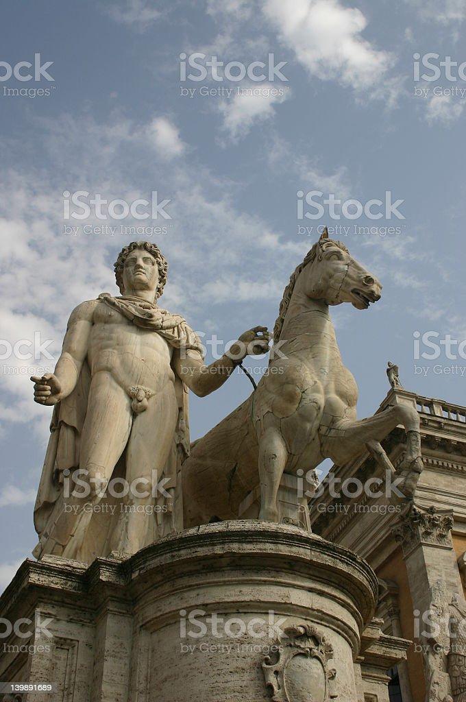 rome statue royalty-free stock photo