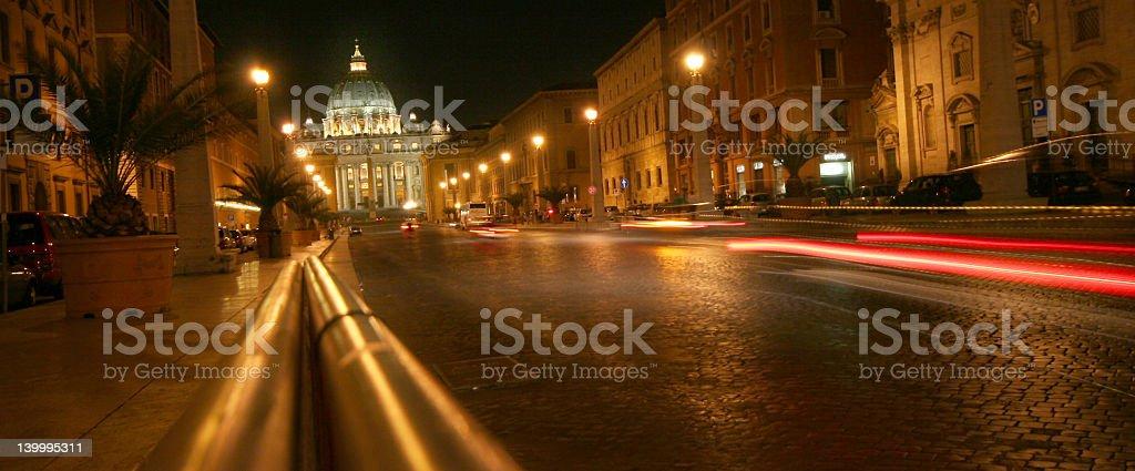 Rome Street royalty-free stock photo