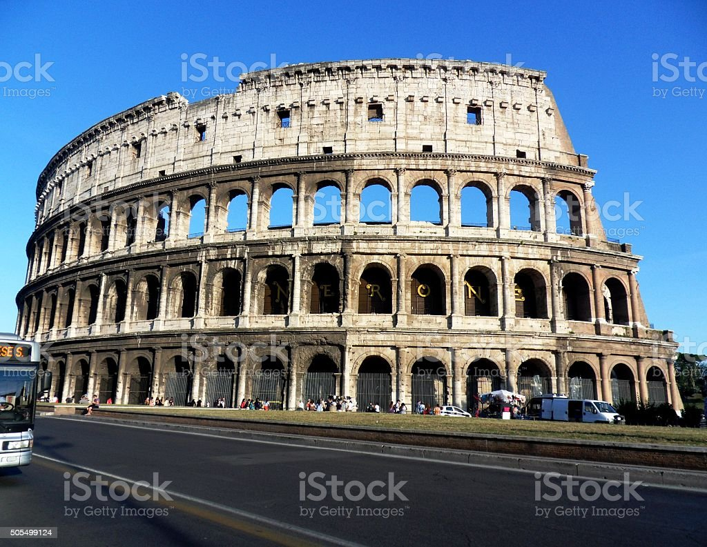 Roma - il Colosseo stock photo
