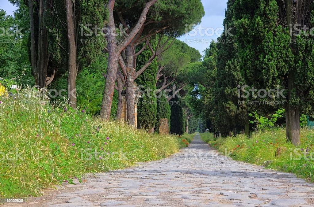 Rome Via Appia Antica stock photo