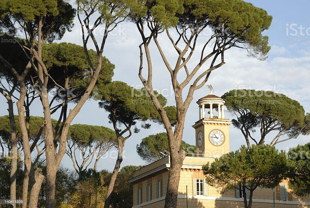 Rome, Villa Borghese stock photo