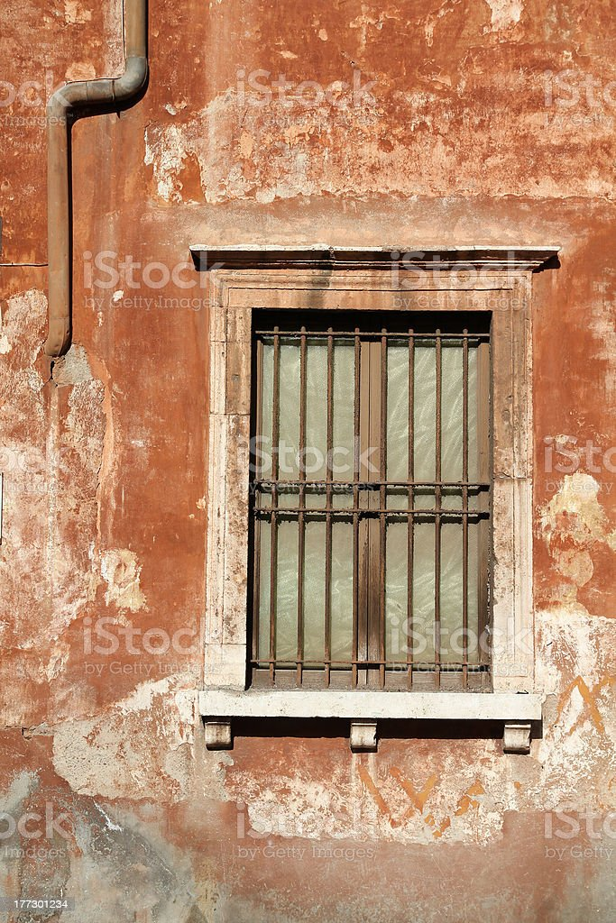 Rome window royalty-free stock photo