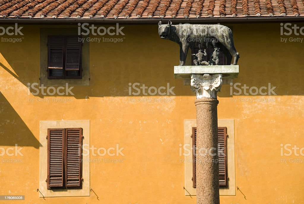 Rome´s founders royalty-free stock photo