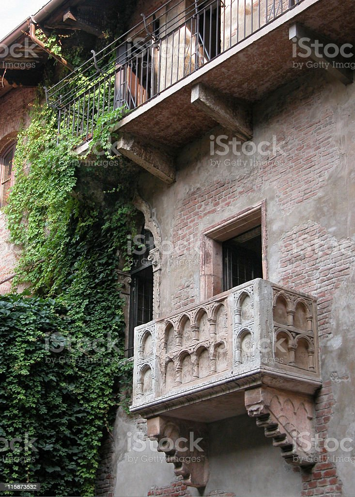 Romeo and Juliet stock photo