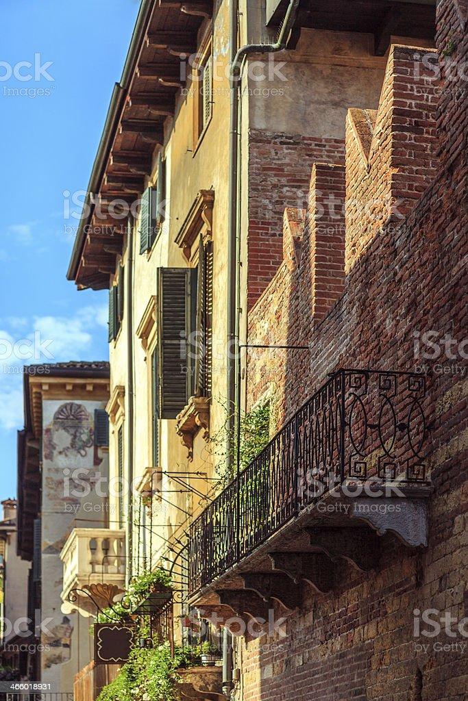 Romeo's House, Verona, Italy royalty-free stock photo