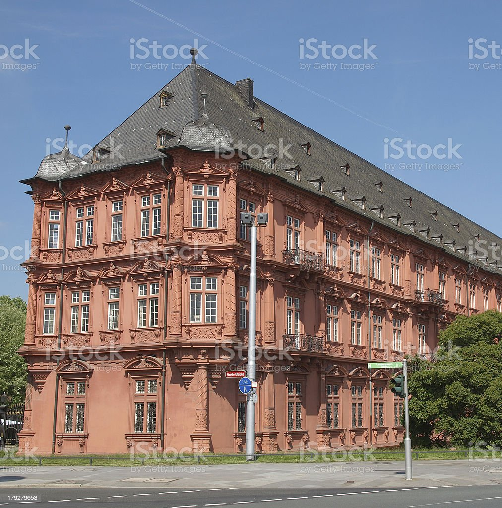 Romish Germanisches Zentralmuseum Mainz royalty-free stock photo