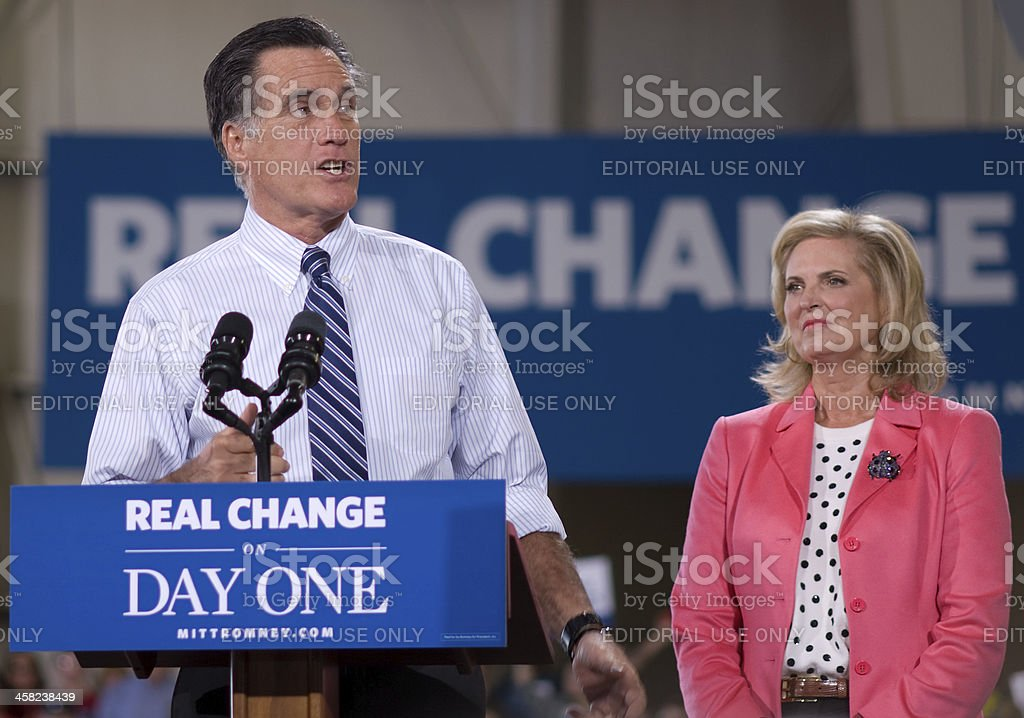 Romney in Colorado royalty-free stock photo