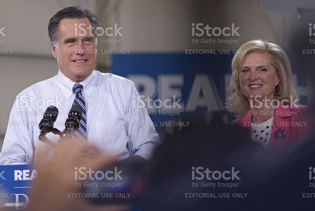 Romney in Colorado stock photo