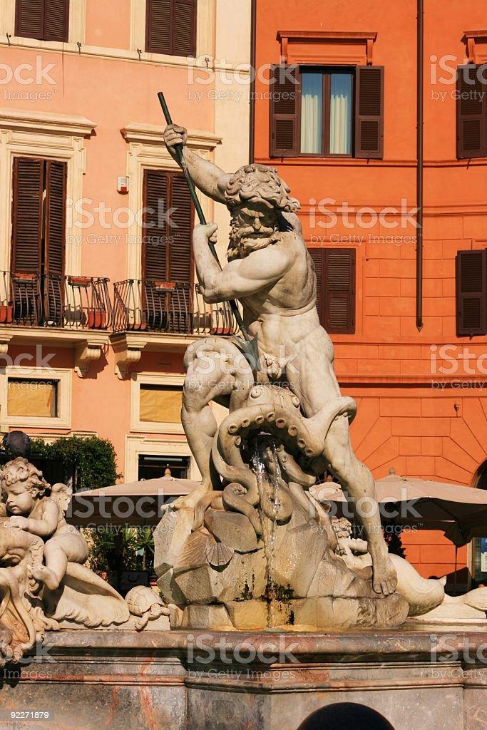 Roms Brunnen royalty-free stock photo