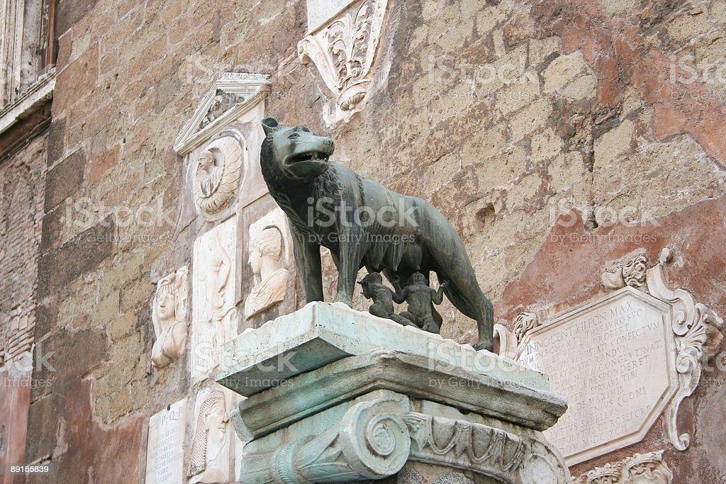 Romulus Remus Rome royalty-free stock photo