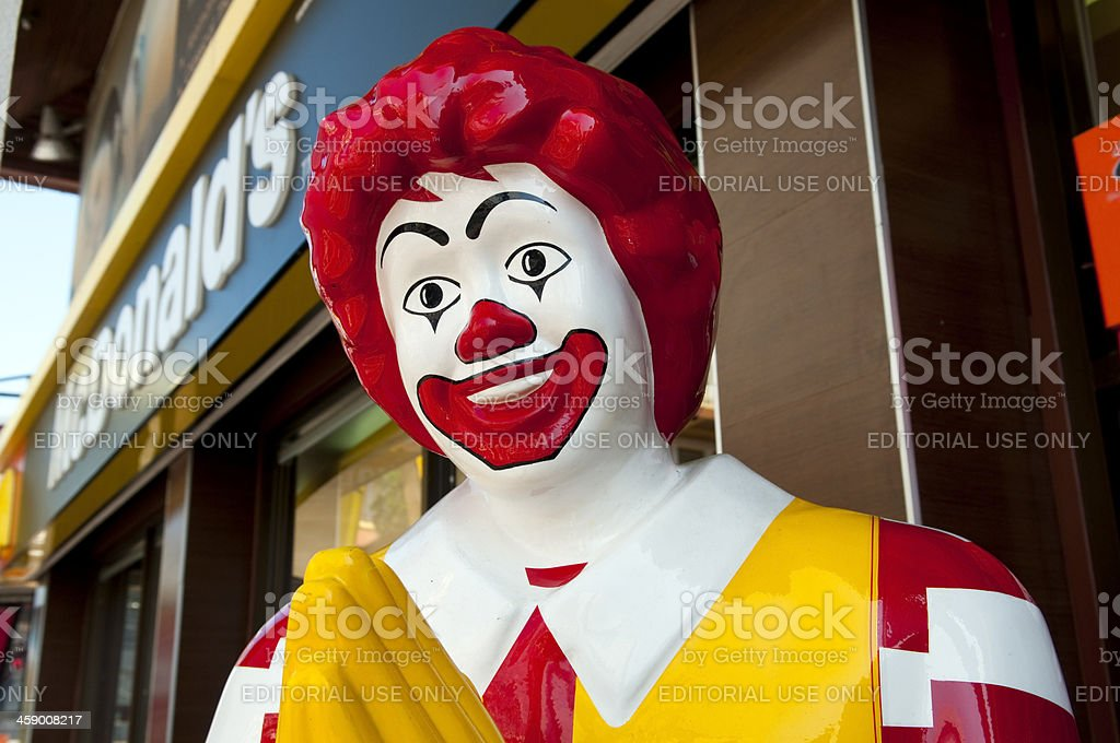 McDonald's restaurant stock photo