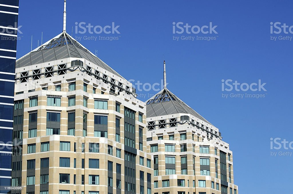 Ronald V. Dellums Federal Building royalty-free stock photo