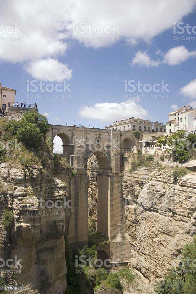 Ronda Bridge stock photo