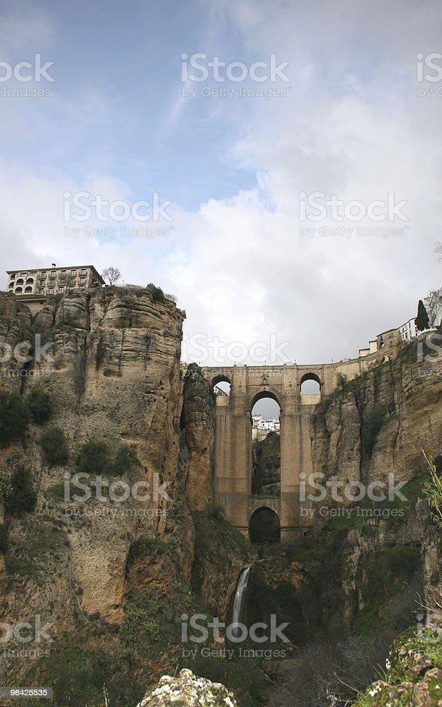 Ronda Bridge royalty-free stock photo