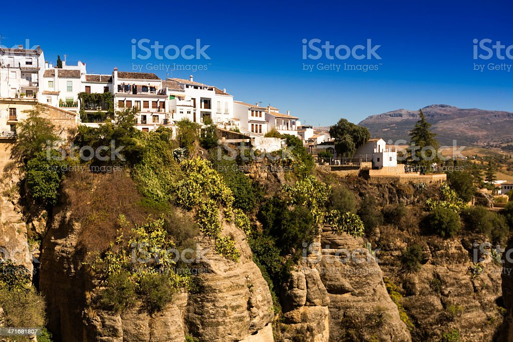 Ronda - Hilltop town in Spain royalty-free stock photo