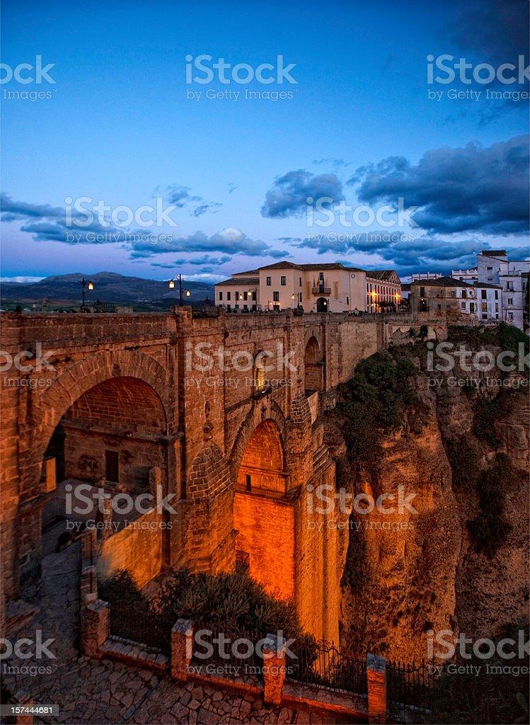 rondas new bridge royalty-free stock photo