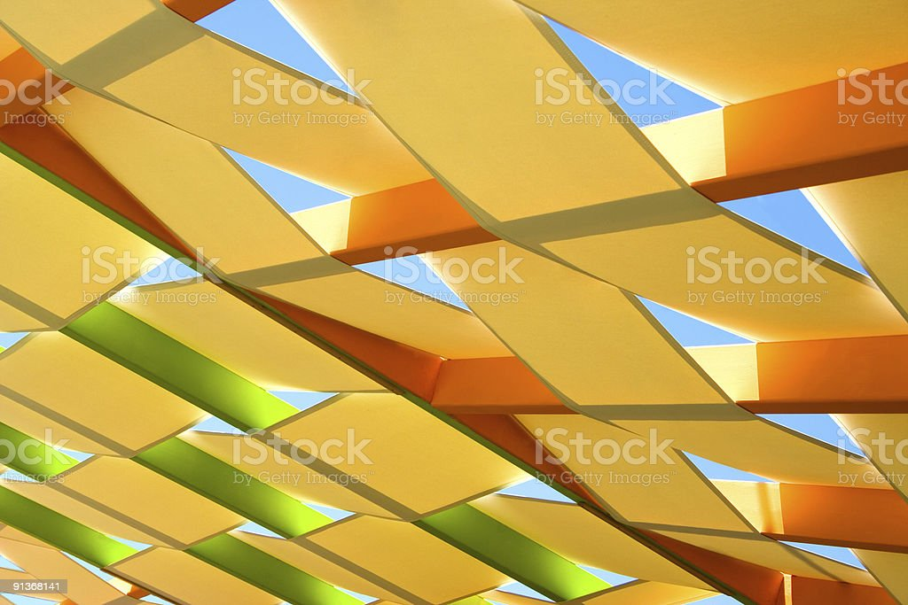 Roof abstract royalty-free stock photo