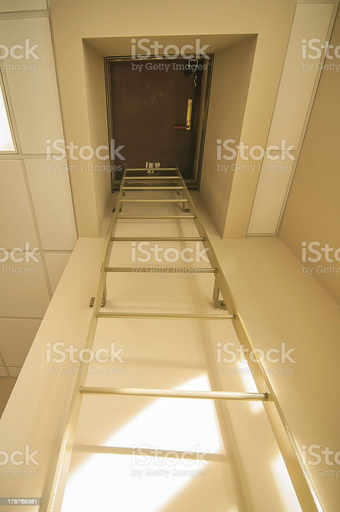 roof access hatch royalty-free stock photo