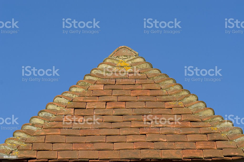 Roof Apex royalty-free stock photo