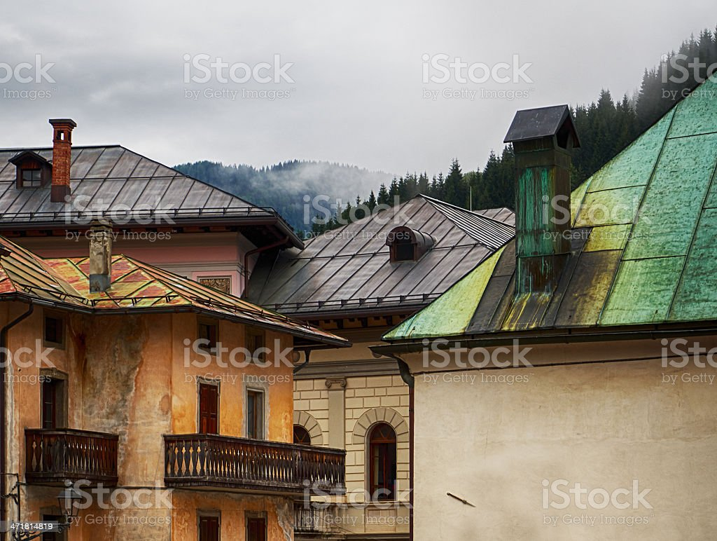 Roof. Color Image royalty-free stock photo