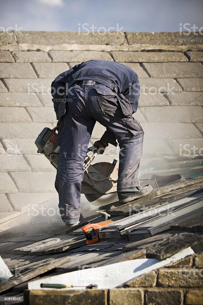 Крыша строительства Стоковые фото Стоковая фотография