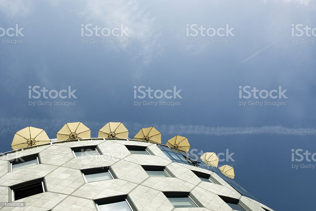 Roof Deck stock photo