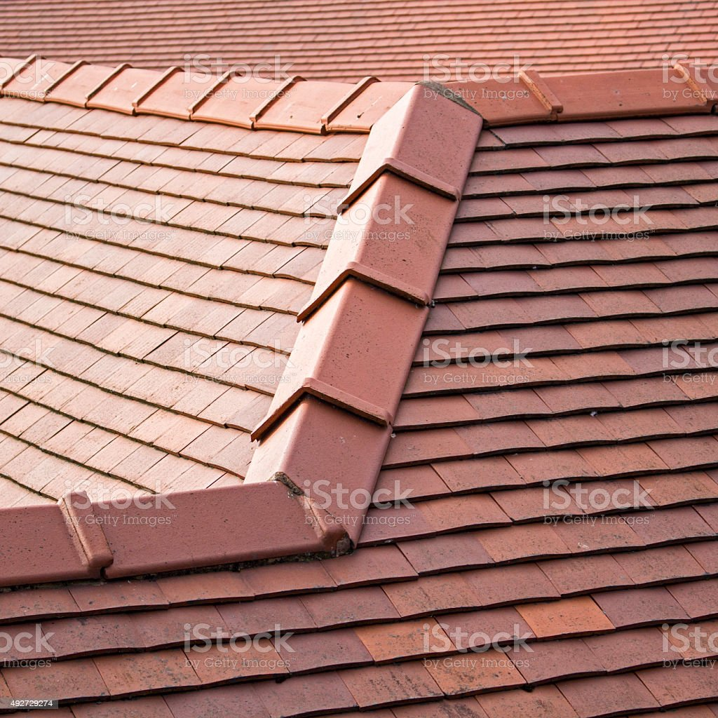Roof Detail stock photo
