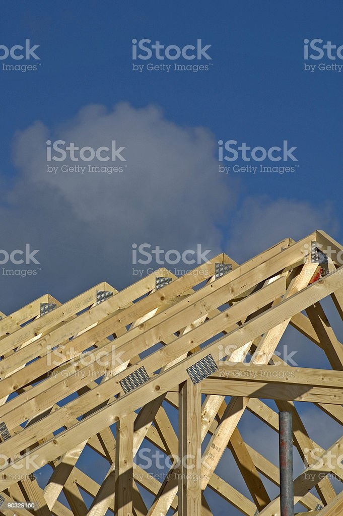 Roof Frames royalty-free stock photo