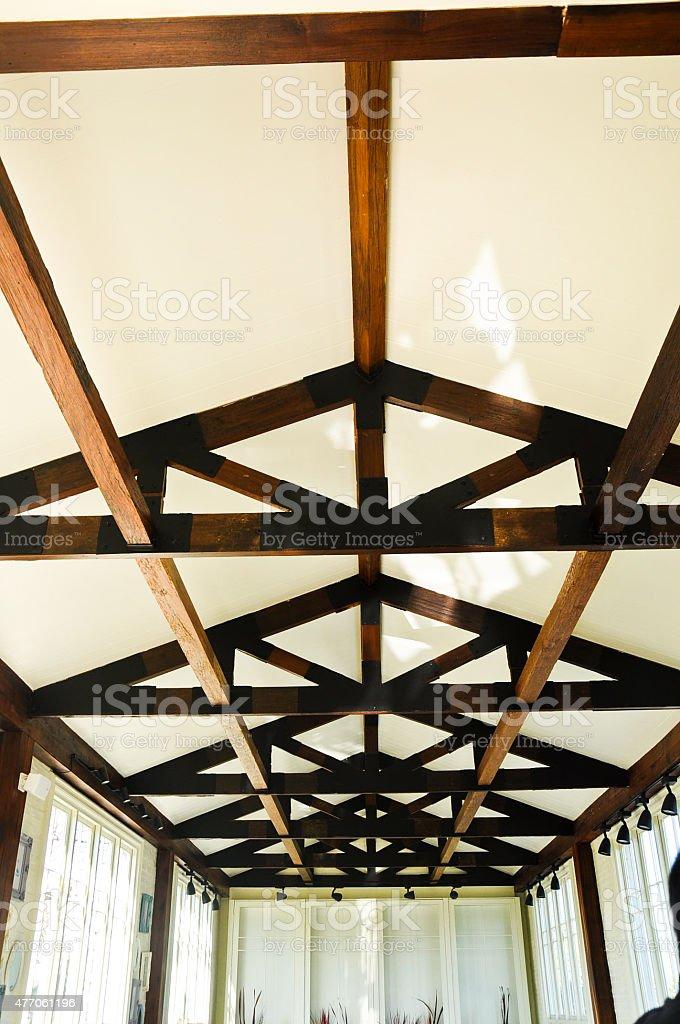 Roof interrior stock photo