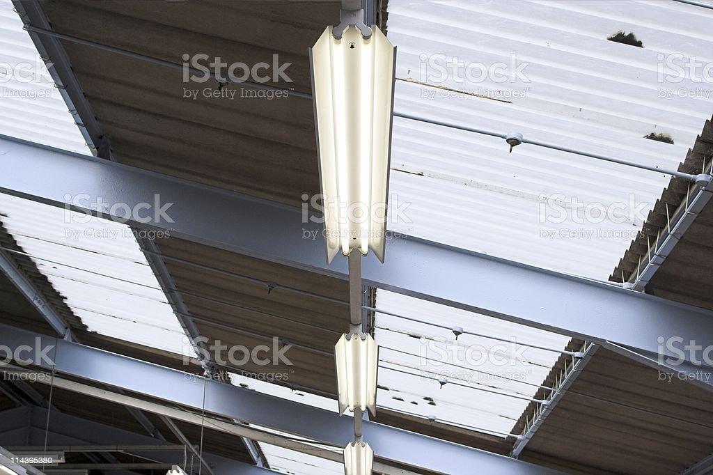 Roof Lighting royalty-free stock photo