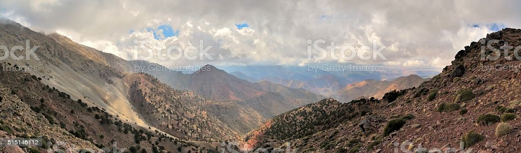 Roof of North Africa stock photo