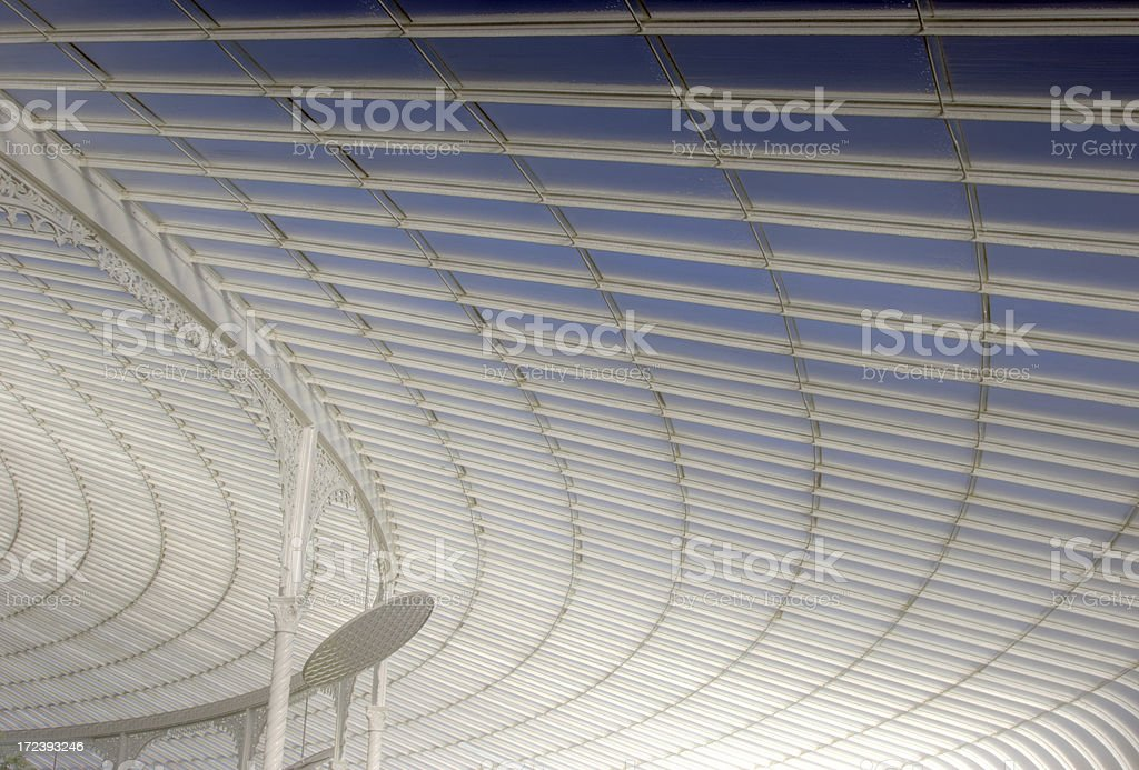 Roof of the Kibble Palace royalty-free stock photo