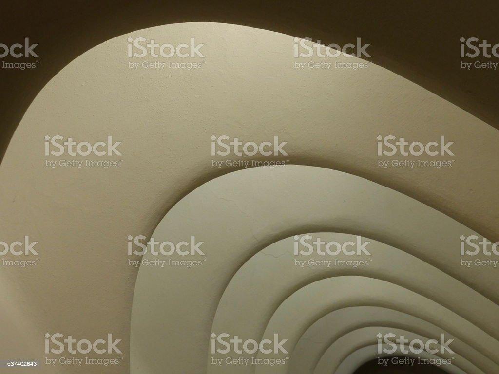 Roof parabola stock photo