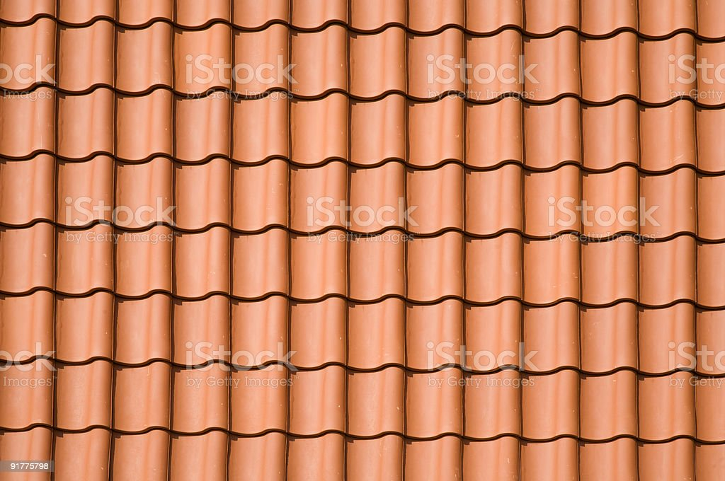 Roof pattern royalty-free stock photo