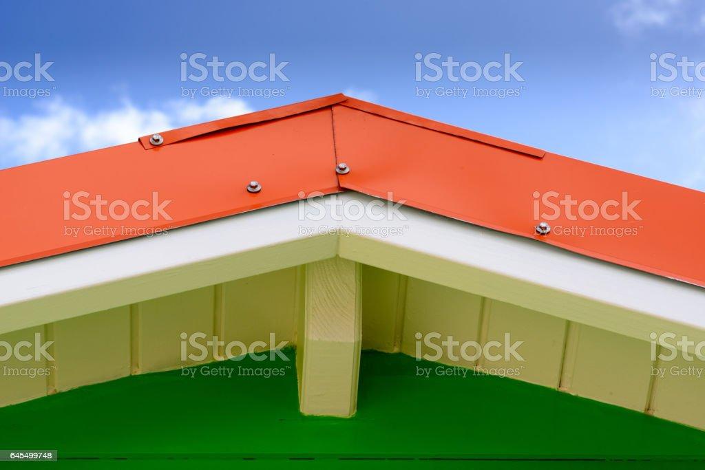Roof Peak stock photo