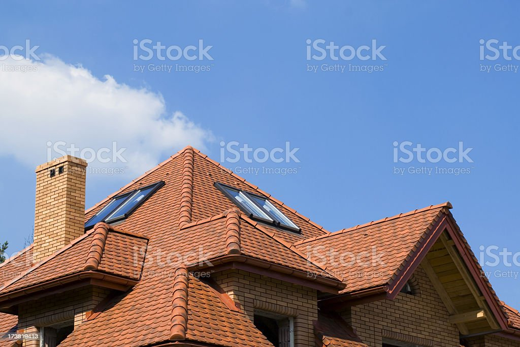 Roof stock photo