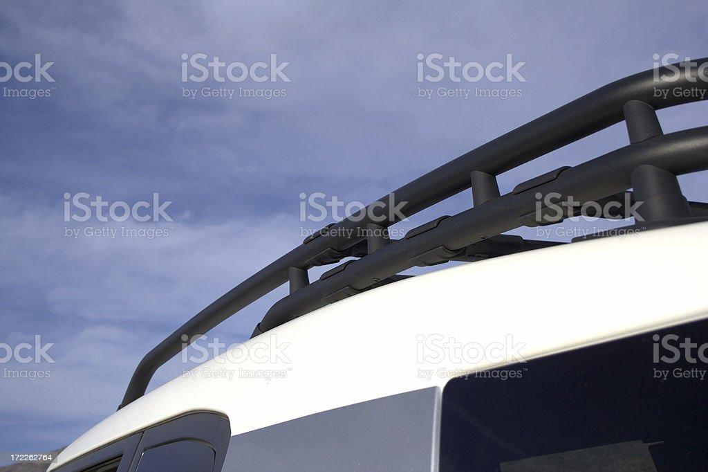 Roof rack stock photo