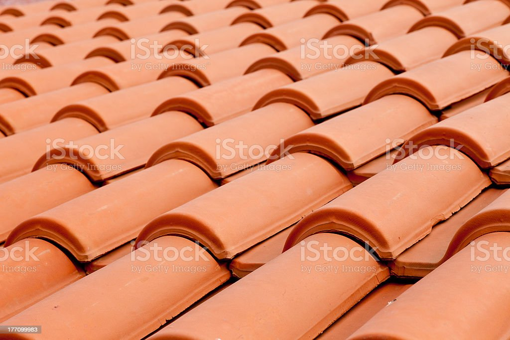 Roof Shingles Background royalty-free stock photo