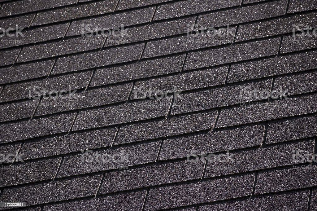 Roof Shingles royalty-free stock photo