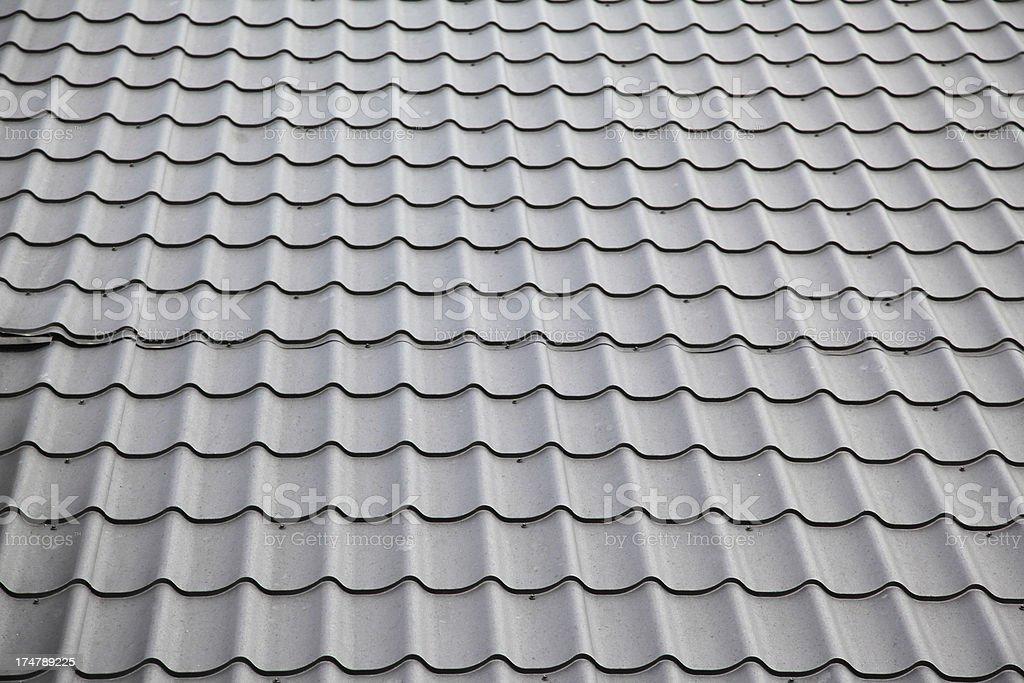 Roof shingles royalty-free stock photo