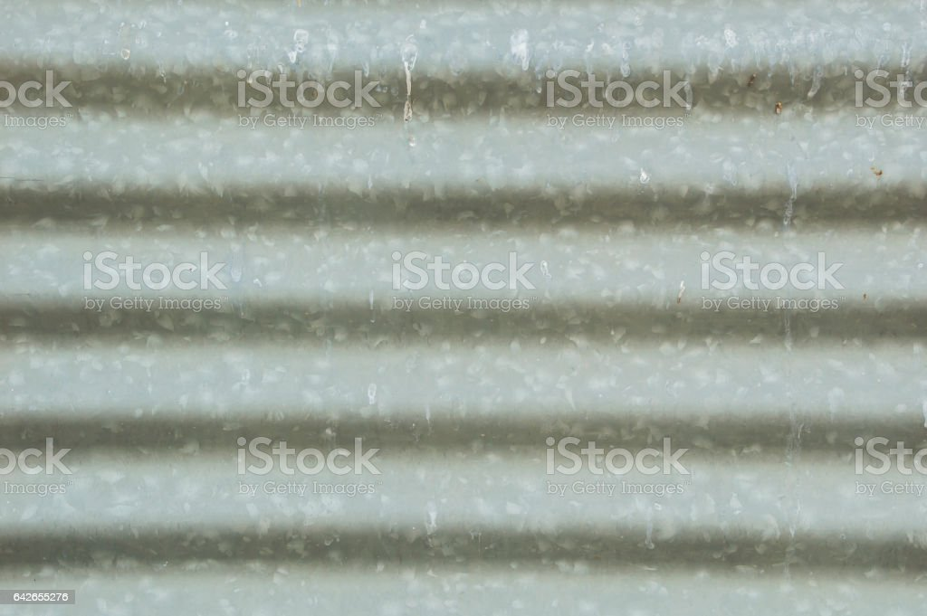 Roof steel zinc tecture background stock photo