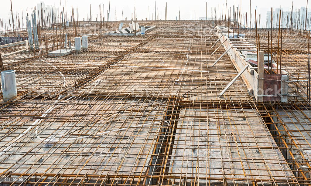 Roof structure,construct ion stock photo