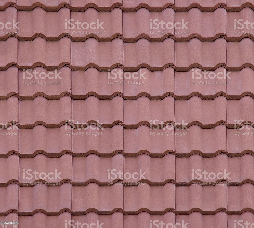 Roof Texture royalty-free stock photo