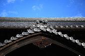 Roof tile of Tofuku-ji Temple, Kyoto