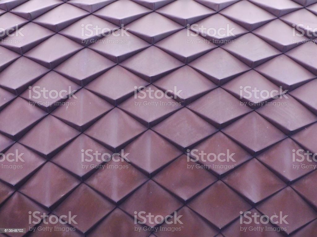 Roof Tile Pattern 012 stock photo