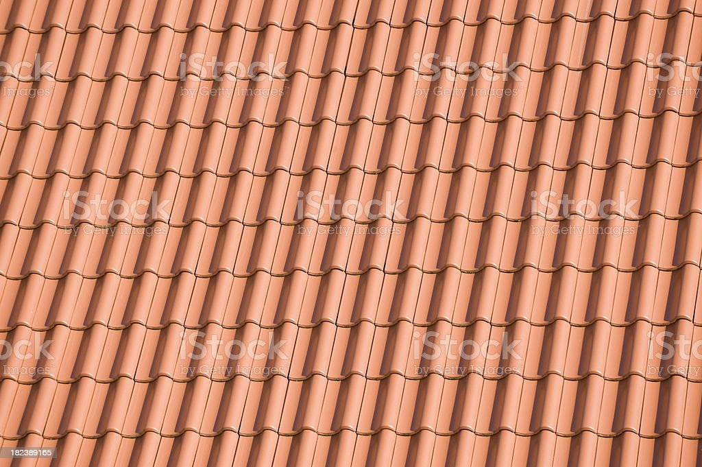 Roof tiles royalty-free stock photo