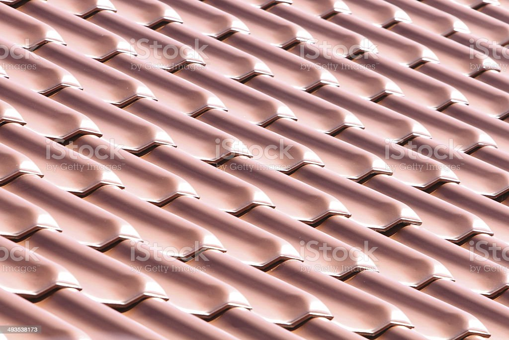 Roof tiles #2 royalty-free stock photo