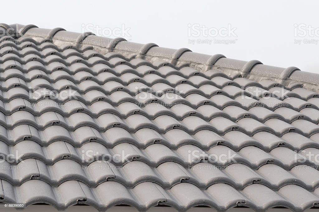 Roof Tiles. stock photo