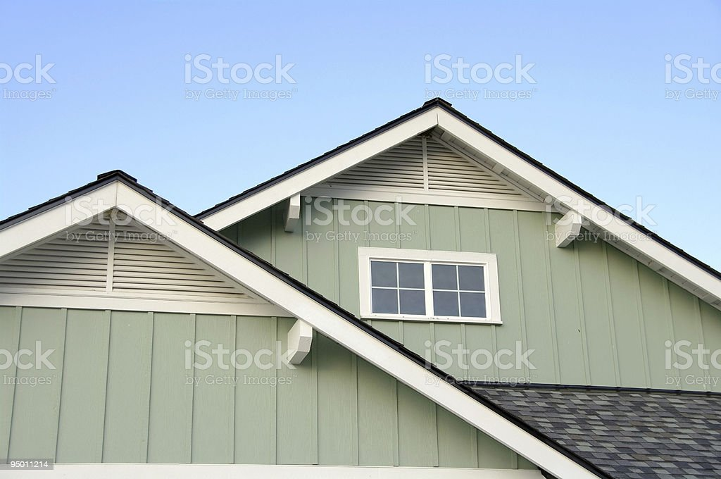 Roof Top Eaves royalty-free stock photo